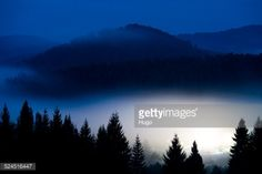 View of mountain range in central Slovakia. Photo taken at 5am... #zvolen: View of mountain range in central Slovakia. Photo taken… #zvolen