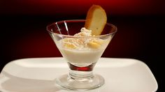 MKR4 Recipe - Coconut Parfait with Mango and Lime