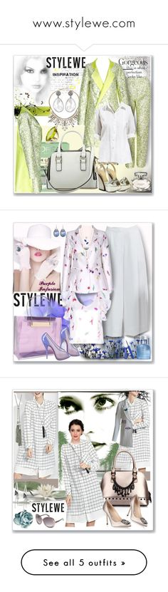 """""""www.stylewe.com"""" by ane-twist ❤ liked on Polyvore featuring L'Oréal Paris, ABS by Allen Schwartz, Charlotte Olympia, Forzieri, Gucci, stylewe, Christian Louboutin, Dolce&Gabbana, Kane and Tom Ford"""