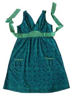 $66.00  Edgewater dress blue  Love this. Fair Trade. Matatraders