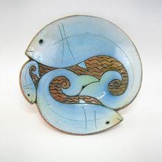 ceramic fish bowl design