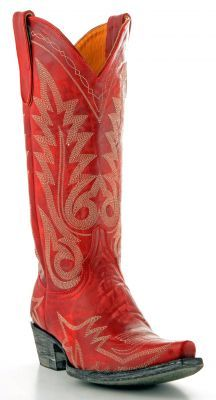 I am really digging cowboy boots this fall...Women's Old Gringo Nevada Boots Red And Cream #L175-262 via @Allens Boots