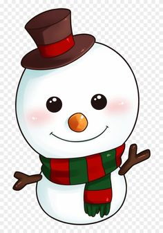 Clipart Christmas Snowman 8 Happy New Year Greetings - Cute .