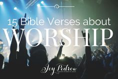 The word worship is a powerful word. Worship is not just singing praise songs on Sunday morning. It is an attitude and a way of life. As Christians, we long to live our lives worshiping God, but mo…