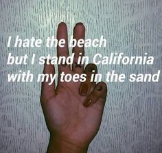 True every summer. Just because my parents force me to go. I actually like the beach but I hate the fact that there are so many people there