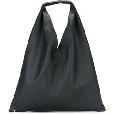 Mm6 Maison Margiela super large tote (£410) ❤ liked on Polyvore featuring bags, handbags, tote bags, black, tote purses, tote bag purse, mm6 maison margiela, tote handbags and handbags tote bags