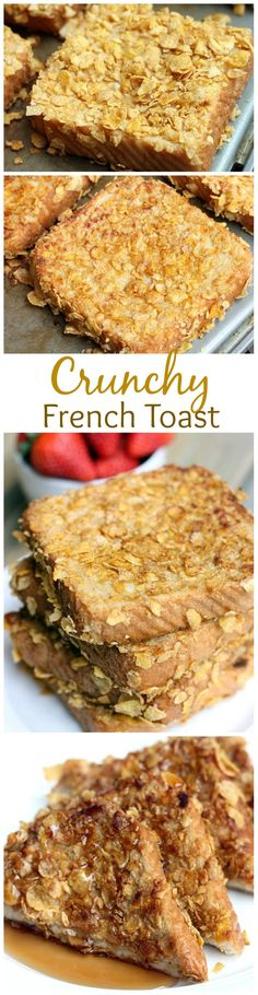 Crunchy French Toast was one of my favorite breakfasts growing up! Super easy and SO GOOD!