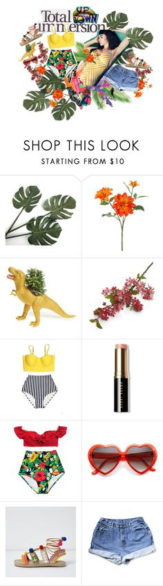 """Sin título #113"" by heartinertia ❤ liked on Polyvore featuring Behance, John Lewis, The Plaid Pigeon, Crate and Barrel and Bobbi Brown Cosmetics"