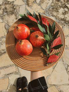 Pommegranate decor in Barcelona
