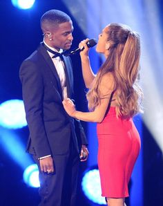 Pin for Later: Ariana Grande and Big Sean Share Supersexy Kisses