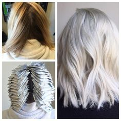 TRANSFORMATION: From Box To Balayage Blonde To Platinum