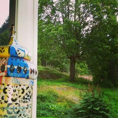 Utsikten från vardagsrummet