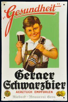Vintage German Beer Posters Retro beer pos vintage