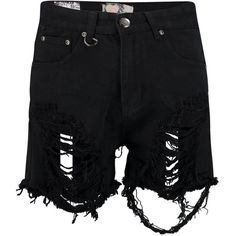 Boohoo Jenna High Rise Distressed Thigh Denim Mom Short | Boohoo (27 AUD) ❤ liked on Polyvore featuring shorts, bottoms, short, ripped denim shorts, destroyed denim shorts, high waisted shorts, high-waisted shorts and distressed shorts