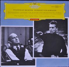 Tschaikowsky – Sviatoslav Richter, Herbert Von Karajan, Wiener Symphoniker – Konzert Für Klavier Und Orchester Nr. 1 B-Moll
