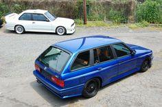 My Build Garage | The Unicorn – BMW e30 M3 Touring that BMW never built. Euro E36 M3 engine swap, custom bodywork, custom paint, custom interior, big brakes, BBS wheels – total restoration! One of only a few in existence!