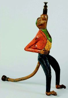 Garden Art: Old Figural Lawn Sprinklers | Content in a Cottage