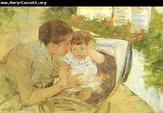 Mary Cassatt Susan Comforting the Baby 1881 painting for sale - Mary Cassatt Susan Comforting the Baby 1881 is handmade art reproduction; You can buy Mary Cassatt Susan Comforting the Baby 1881 painting on canvas or frame. Edgar Degas, National Gallery Of Art, Mary Cassatt Art, American Impressionism, Berthe Morisot, Oil Painting Reproductions, Henri Matisse, Museum Of Fine Arts, Mother And Child