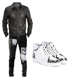 """""""Mr.Who?"""" by queenkayy-25 on Polyvore featuring Horace, Forzieri, Christian Louboutin, men's fashion and menswear"""