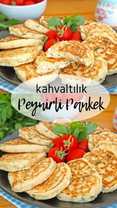 Kahvaltılık Peynirli Pankek (videolu) – Nefis Yemek Tarifleri Breakfast Cheese Pancakes (with video) – Delicious Recipes Vegetarian Breakfast, Vegan Breakfast Recipes, Vegetarian Recipes, Healthy Recipes, Delicious Recipes, Pancake Recipes, Breakfast Healthy, Baking Recipes, Cheese Pancakes