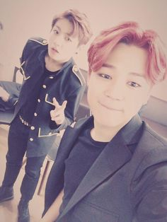 Jimin with Jungkook