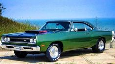 1969 Dodge Super Bee hardtop sporting an awesome 440 Six-Pack.  SUH-WEET!!