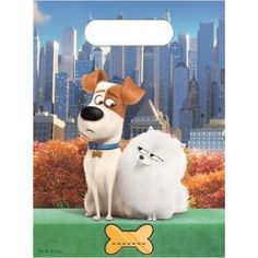 Party bags: The Secret Life of Pets Party Bags - Plastic Loot Bags Party Animals, Animal Party, Dogs Party, The Secret, Party World, Loot Bags, Pets 3, Secret Life Of Pets, Anime Animals