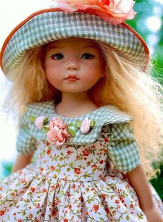 "~Summer Picnic~ for 13"" Effner Little Darling  by Sharon"