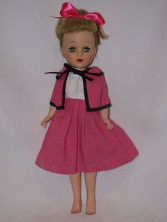 "Pretty 14"" Uneeda Fashion Doll Dressed Nice #Uneeda #Dolls"