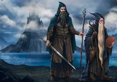 The Blue Wizards by DanielPillaArt