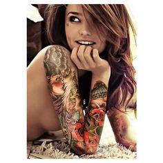 Female sleeve tattoo tattoos