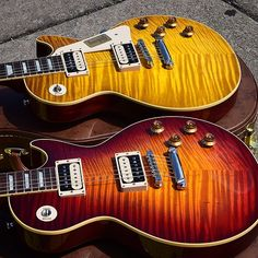 Standard Historic '59s in finishes based off CC#2 (top) & CC#2 Gloss…