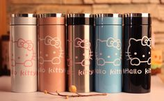 New Stainless Steel Vacuum Flask Thermos Insulated Travel Coffee Mug Hello Kitty