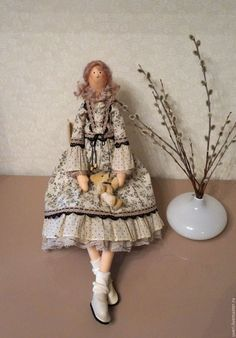 Купить Кукла тильда Беатрис - кукла ручной работы, кукла, кукла в подарок, кукла…