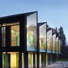Kindergarten in Marburg / Grüne Faltung - Architektur und Architekten - News / Meldungen / Nachrichten - BauNetz.de