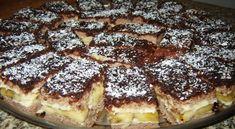 Ízletes diós sütemény, mennyei vanília krémmel!