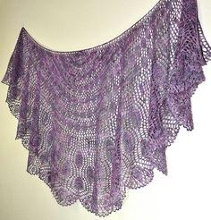 Wings of a Prayer: Knit Shawl Pattern