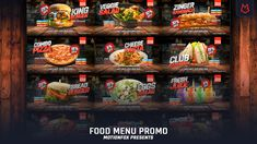 Food Menu Promo // After Effects # Cute Bedroom Ideas, After Effects Projects, Logo Food, Tv Commercials, Food Menu, Mixed Drinks, Branding Design, Snack Recipes, Templates