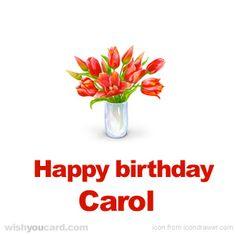 Happy Birthday, Carol!