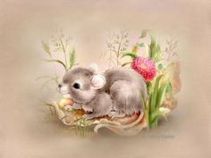 Penny Parker ♥ღ Penny Parker, Bonnie Parker, Marjolein Bastin, Cute Mouse, Baby Mouse, Forest Creatures, Animal Cards, Cartoon Pics, Fairy Dolls