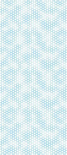 Honeycomb - Cyan Arctic White, wallpaper by Lars Contzen Textures Patterns, Color Patterns, Print Patterns, Pattern Texture, Texture Art, Textile Prints, Textiles, Op Art, Zbrush