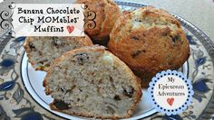 My Epicurean Adventures: Banana Chocolate Chip MOMables' Muffins