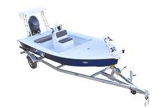 SKIFF 185 Un skiff en aluminium tout soudé, construit pour durer. Small Fishing Boats, Jon Boat, Floor Plans, Home Appliances, Flooring, Design, Google Search, House Appliances