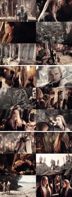 """""""The Wood Elves of Mirkwood are not like their kin.   They're less wise and more dangerous."""" #thehobbit"""