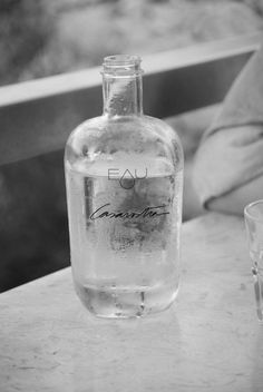 Good idea - I can relabel bottles. I'm tired of buying bottled water for the bar and adding to the plastic glut.