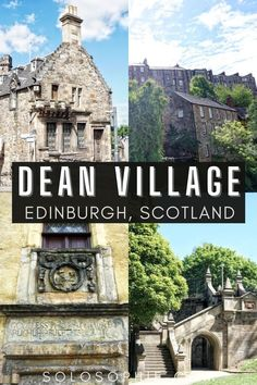 Best of Scotland/ How to Visit the Charming Dean Village in Edinburgh!