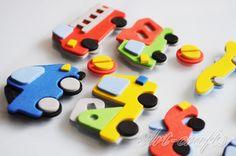 dekoracyjne samochody z filcu - Szukaj w Google
