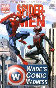 Spider-Men (2012 Marvel) 1SHOP-WADES
