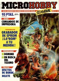 MICROHOBBY #35 Comic Books, Spectrum, Hacks, Cartoons, Comics, Comic Book, Graphic Novels, Comic