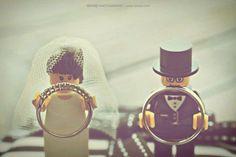 Lego Bride & Groom Holding The Rings. An Airman Lego would be cute! Diy Wedding, Wedding Favors, Wedding Photos, Dream Wedding, Wedding Day, Wedding Black, Wedding Dreams, Wedding Invitations, Ring Holder Wedding